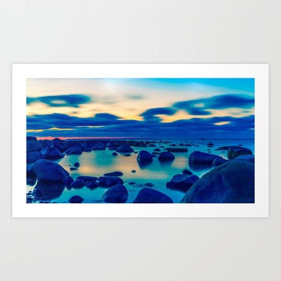 The Baltic Sea, Estonia Art Print