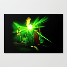 GreenSun Dance Canvas Print