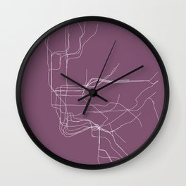 New York Subway Wall Clock