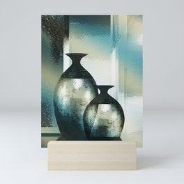Still-life, Shimmering Reflections Mini Art Print