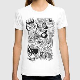 panic for love T-shirt