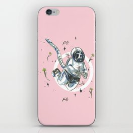 Cultivating the Garden (A Space Symphony) iPhone Skin