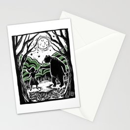 Dancing by Moonlight Stationery Cards