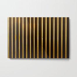 metal lines Metal Print