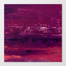 purple atmosphere Canvas Print