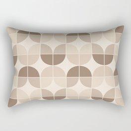 Mid Century Geometric 3 Rectangular Pillow