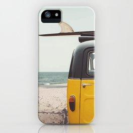 Summer surfing iPhone Case