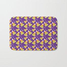happy/sad candy corn Bath Mat