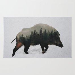 Wild Boar Rug