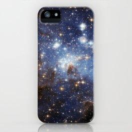 LH 95 stellar nursery in the Large Magellanic Cloud (NASA/ESA Hubble Space Telescope) iPhone Case