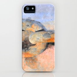 THE SHIP CHAIN iPhone Case