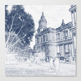 London View: St Pauls Canvas Print