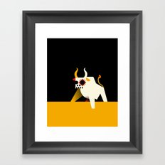 Toro Framed Art Print