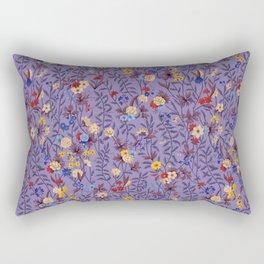 William Kilburn Garden in purple Rectangular Pillow