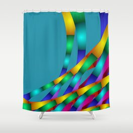 fractal geometry -131- Shower Curtain