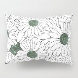 Daisy Mint Pillow Sham