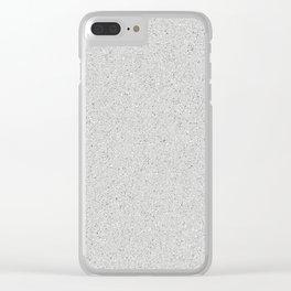 Limestone Clear iPhone Case