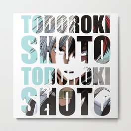 Todo in Impact Metal Print