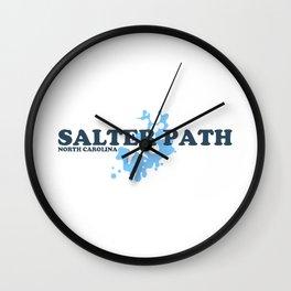 Salter Path - North Carolina. Wall Clock