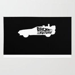 Back To The Future, DeLorean, 30th anniversary, 1985-2015, white Rug