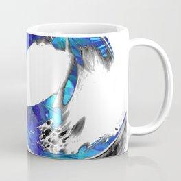 Blue And White Abstract Art - Swirling 3 - Sharon Cummings Coffee Mug
