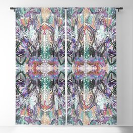 Psychedelic Positive Notes Blackout Curtain