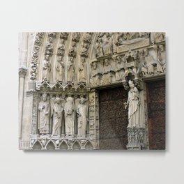 Notre Dame de Paris France Travel Photography Metal Print