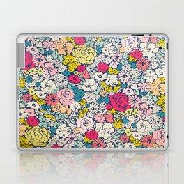 Vintage flowers Laptop & iPad Skin