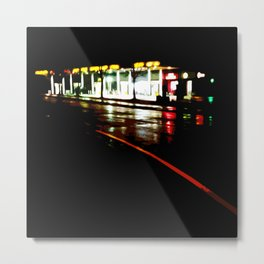 Late Night Petro Metal Print