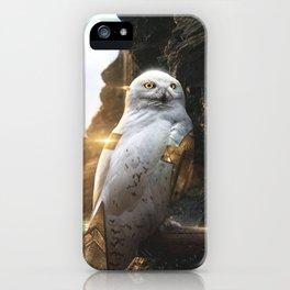 golden owl iPhone Case