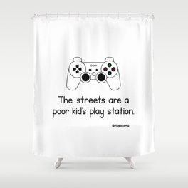 PlayStation Shower Curtain
