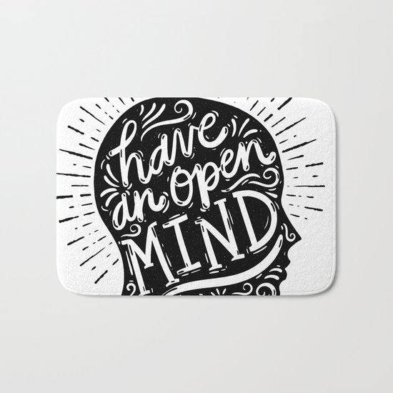 Open Mind Bath Mat