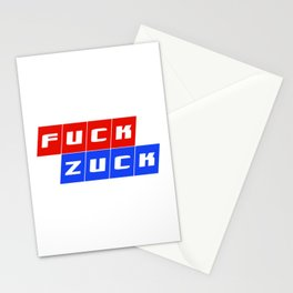 Fuck Zuck Stationery Cards