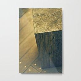 Woodwalk Metal Print
