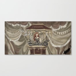 Midnight Circus: tickets Canvas Print
