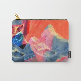 Abstract Mt. Everest Carry-All Pouch