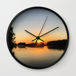 Top End Bite To Eat Wall Clock