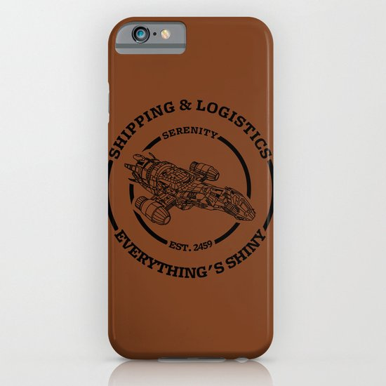 SERENITY SHIPPING AND LOGISTICS iPhone & iPod Case