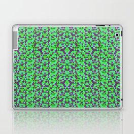 PURPLE AND GREEN MINI RECTANGLES Laptop & iPad Skin
