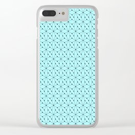 A blue day Clear iPhone Case