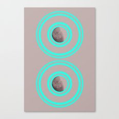 Twin Satellites  Canvas Print