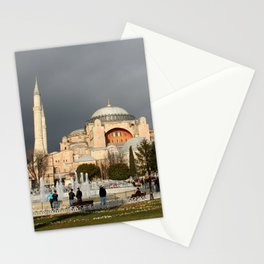 Clouds Over Hagia Sofia Stationery Cards
