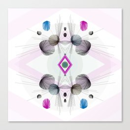 Geometric Burst Canvas Print