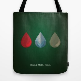 Breaking Bad Tribute Poster Tote Bag