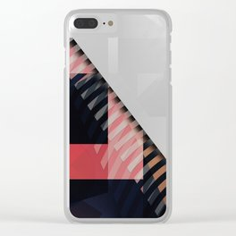Abstract 2017 046 Clear iPhone Case