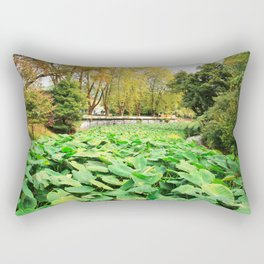 Taro field Rectangular Pillow