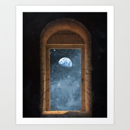 DOOR TO THE UNIVERSE Art Print