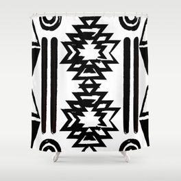 Maison Jiji tribal vibes Shower Curtain