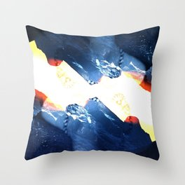 The mountain project Throw Pillow
