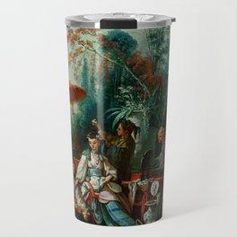 """François Boucher """"The Chinese Garden"""" Travel Mug"""